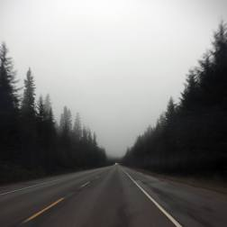 Driving to Yukon